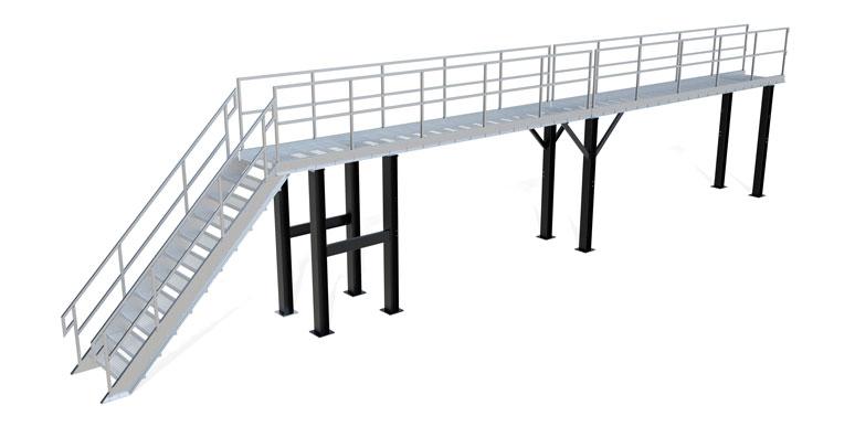 Elevated Work Platforms Catwalks
