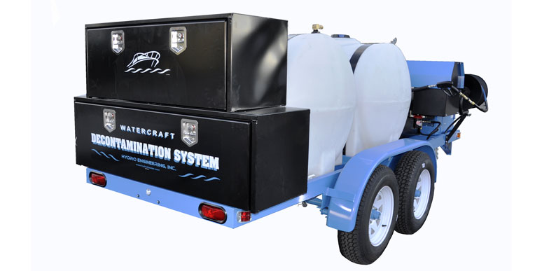 Watercraft Decontamination System Trailer