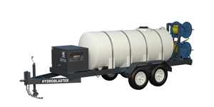 Aircraft Deluge Wash System Trailer